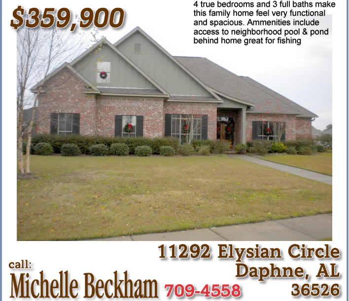 Daphne Alabama: Daphne AL Home For Sale: Austin Park